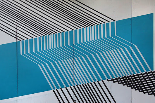 TAPE ART LINES & SHAPES