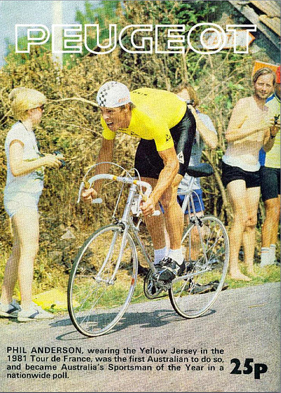Phil Anderson 1981 PX-10DU TdF