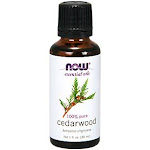 Now Foods - Cedarwood 100% Pure Essential Oil (1 fl oz.) - Essential Oils