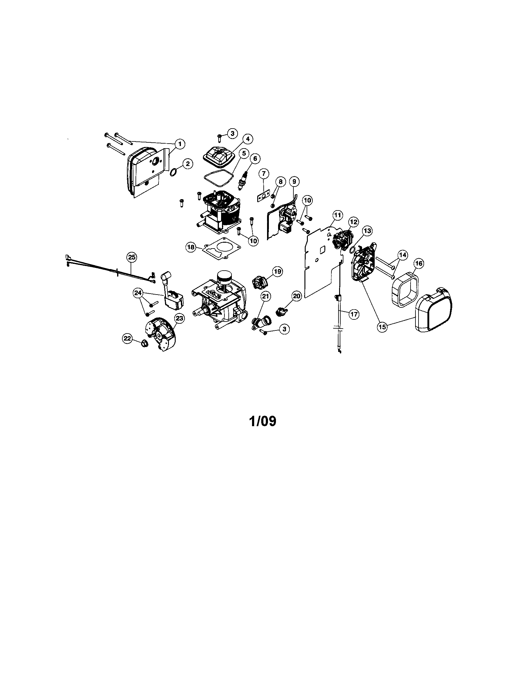 26 Craftsman Leaf Blower Carburetor Diagram