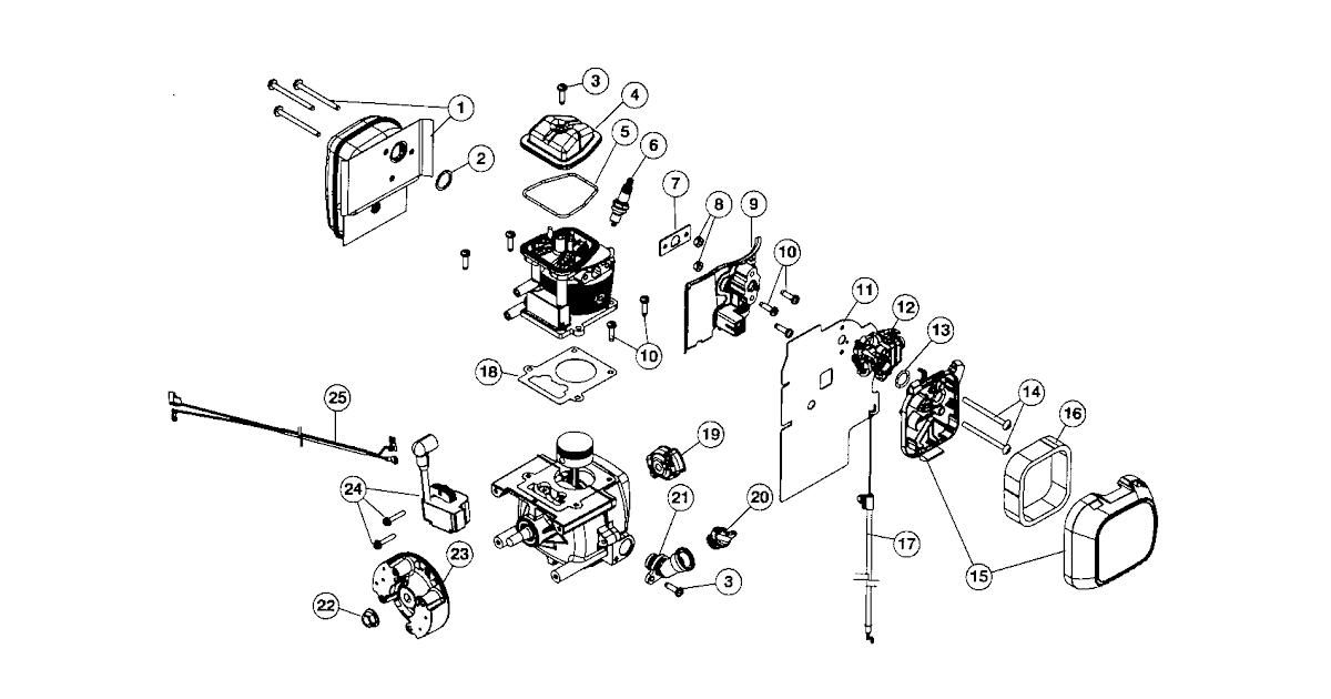 28 craftsman leaf blower parts diagram