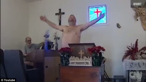 A Church Where They Worship N*ked Discovered In America