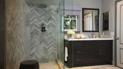 Suzie Jeff Lewis Design I Love This Bathroom Chic Ensuit