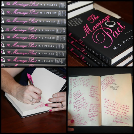 Thank You! The Marriage Pact Book Launch - MJ Pullen