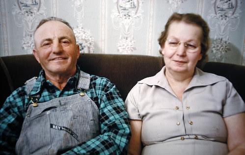 Frank and Clara Fowlie