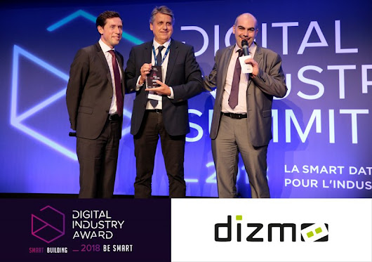 Dizmo has been awarded the Digital Industry Award by Atos and Siemens