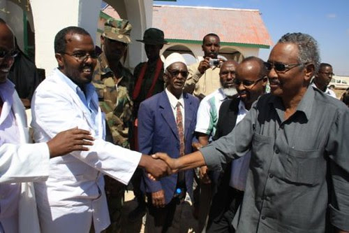 President Farole of Puntland was welcomed in Somalia during a visit in late November 2012. Puntland is a breakaway region in northern Somalia. by Pan-African News Wire File Photos