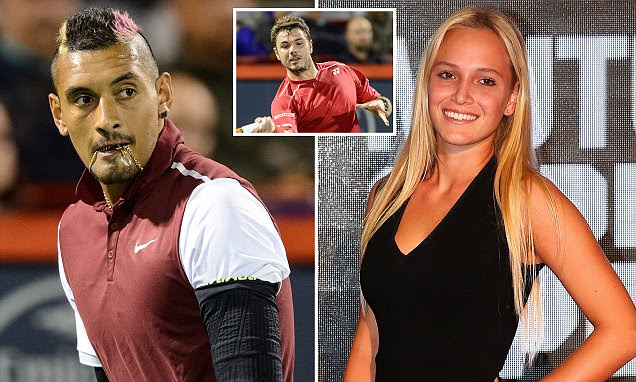Nick Kyrgios told Stan Wawrinka that Thanasi Kokkinakis 'banged your girlfriend'