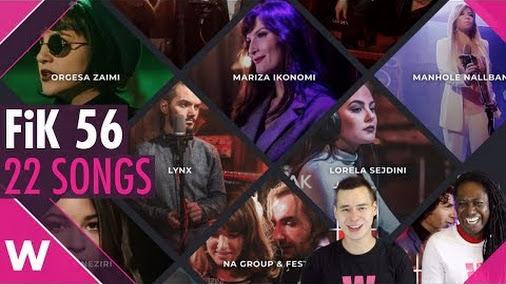 Festivali i Këngës FiK 56: All 22 songs reaction (Albania @ Eurovision 2018)