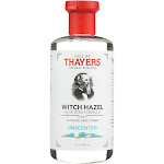 Thayers Witch Hazel Toner, Alcohol-Free, Unscented - 12 fl oz