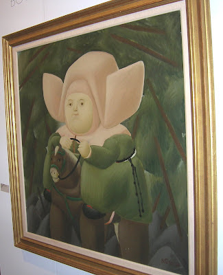 Work by Fernando Botero