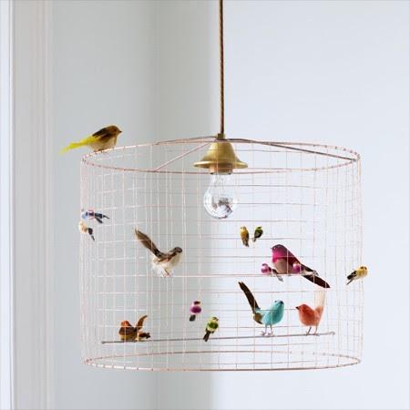 Bird Cage Chandelier eclectic children lighting