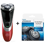 Norelco AT811 + SH50/52 PowerTouch Cordless Shaver Kit