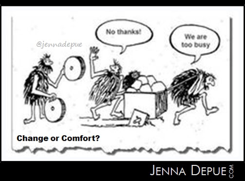 LIFE Leadership: Losing and Winning - Comfort or Change • Jenna Depue's Blog
