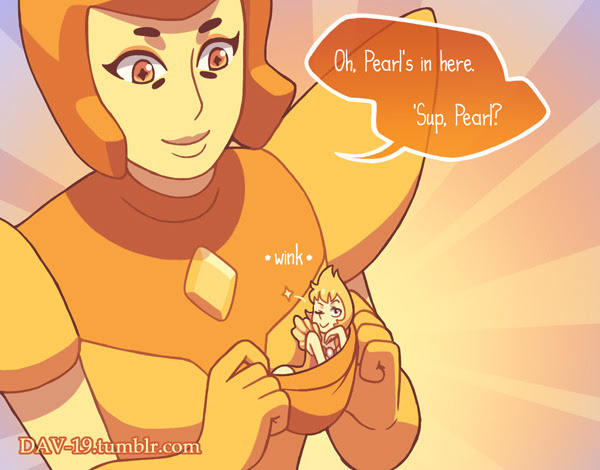 One more Steven Universe and Adventure Time crossover