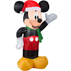 Gemmy Santa Mickey Inflatable