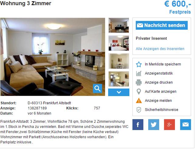 Wohnung In Stuttgart Ost