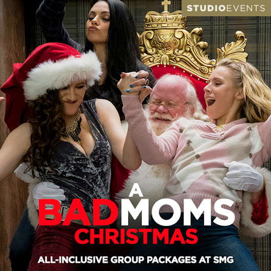 A Bad Moms Christmas at Studio Movie Grill - Soccer Mom Life