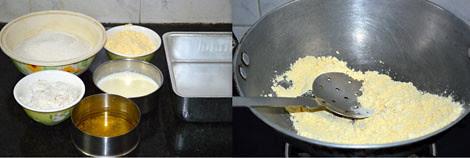 How ot prepare 7cup burfi