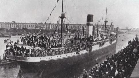 Un secolo fa le vittime dei naufragi erano italiani emigranti in America