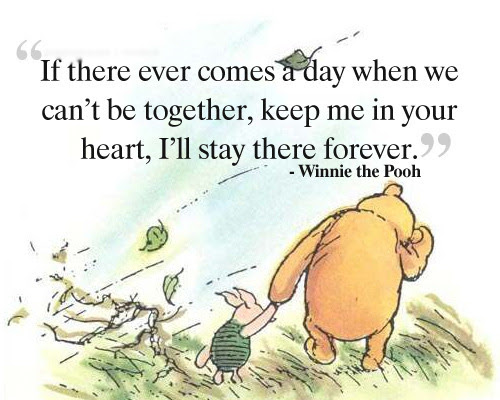 ... bear # piglet # characters # friendship # friendship quotes # life