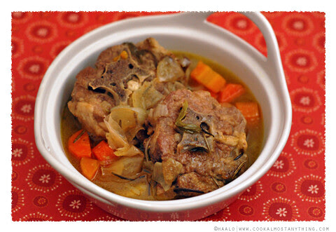lamb neck stew© by Haalo