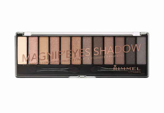 New from Rimmel London: Magnif'Eyes Eyeshadow Palettes