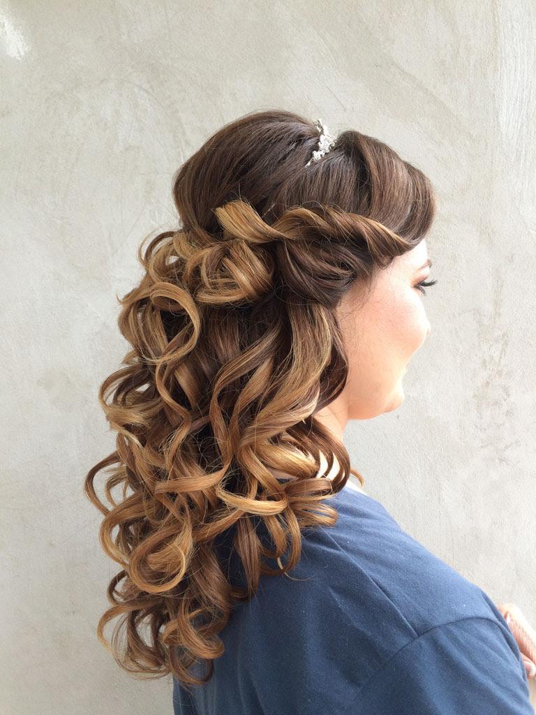 Frisuren Halb Hochgesteckt Sch N Brautfrisuren 2014 Lange Haare