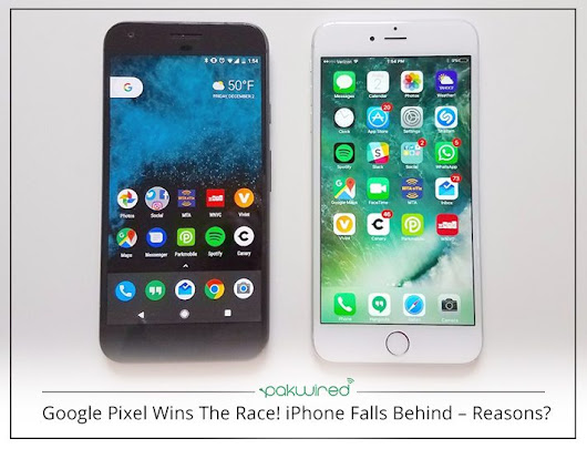 Google Pixel Wins The Race! iPhone Falls Behind – Reasons?