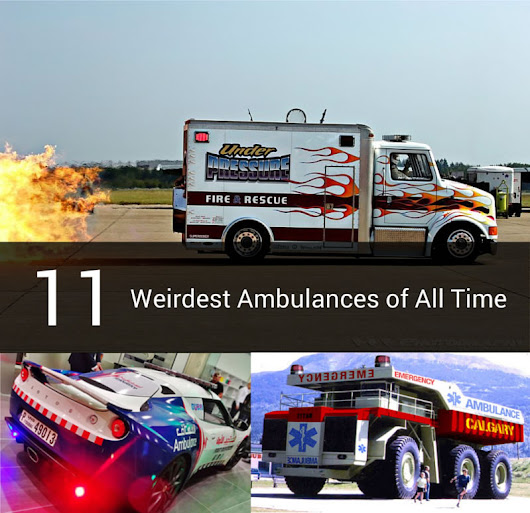 11 Weirdest Ambulances of All Time - CM Specialist Vehicles