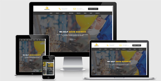 Industry- Factory Html Template