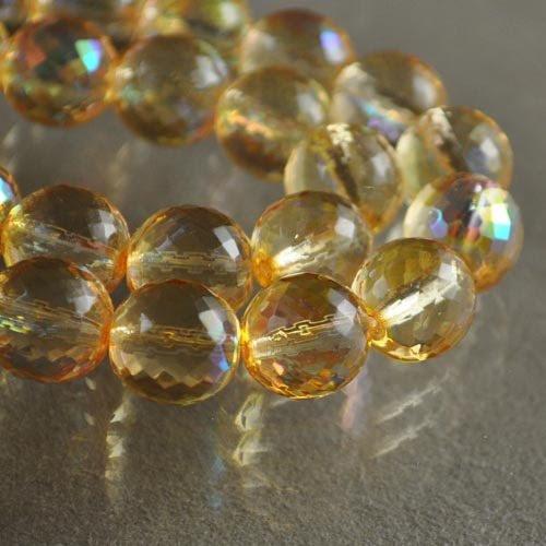 27002005-04 Firepolish - 12 mm Rich Cut Round - Honey Lemon AB (1)
