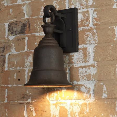 Liberty Bell Outdoor Wall Lantern - traditional - outdoor lighting