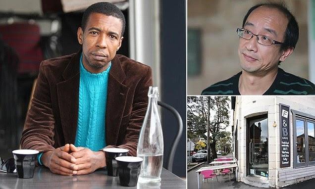 racist cafe