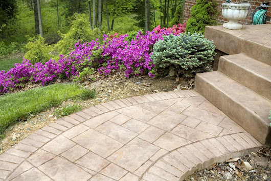 Process and Uses for Stamped Concrete