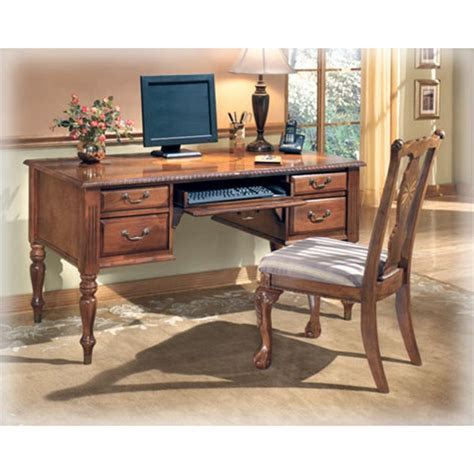 ashley furniture home office leg desk