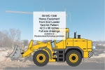 Heavy Equipment Front End Loader Yard Art Woodworking Pattern - fee plans from WoodworkersWorkshop® Online Store - heavy equipment,tractors,front end loaders,yard art,painting wood crafts,scrollsawing patterns,drawings,plywood,plywoodworking plans,woodworkers projects,workshop blueprints