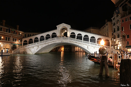 "Le pont du Rialto ""by night"""