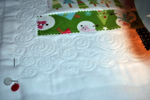 The Quilted Tree ~ The Swirling Snow