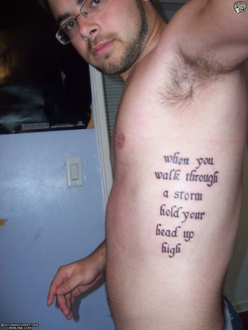 Tattoo Quotes: Tattoo Ideas: Quotes on Strength, Adversity