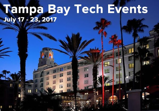 What's happening in the Tampa Bay tech scene (Week of Monday, July 17, 2017)