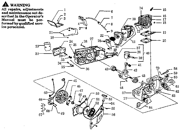 26 Poulan Chain Saw Diagram