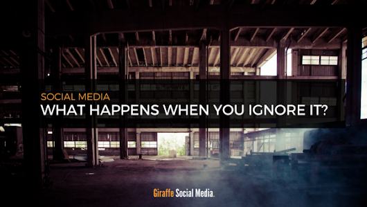 What Happens When You Ignore Social Media Marketing?