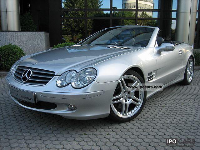 2003 Mercedes-Benz SL 500 / AMG 19 \ - Car Photo and Specs