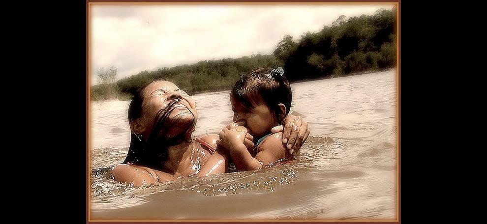 Comunity Nova Esperança, Baré people. Cuieiras river, tributary of the Rio Negro, Amazonia, Brazil