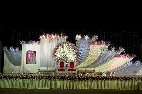 Best Wedding Stage Decorations Flowers ? OOSILE