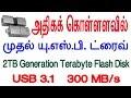 அதிகக் கொள்ளளவில் முதல் யு.எஸ்.பி. ட்ரைவ் 2 TB | World's Largest USB Flash Drive