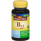 Nature Made Vitamin B-12, 3000 mcg, Liquid Softgels - 60 count