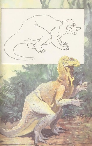 Iguanodon by John R. Jones