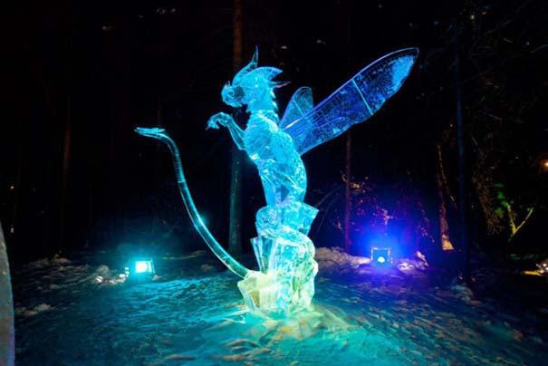 Εκπληκτικά έργα τέχνης από ένα κομμάτι πάγου (12)